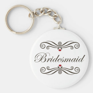 Bridesmaid Favors Keychains