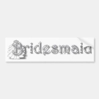♥ Bridesmaid  ♥Fun for Bachlorette Party, Shower♥ Bumper Stickers