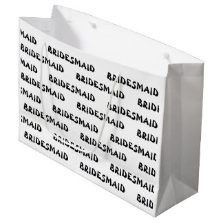 """Bridesmaid"" Gift Bag"