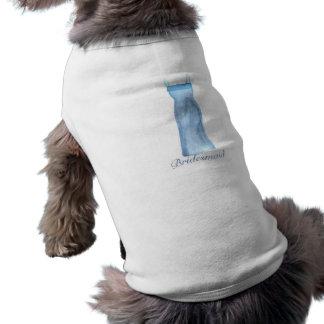 Bridesmaid Gift Dog Tee Shirt