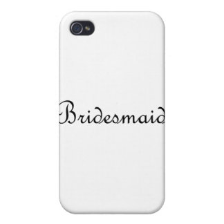 Bridesmaid iPhone 4/4S Cover