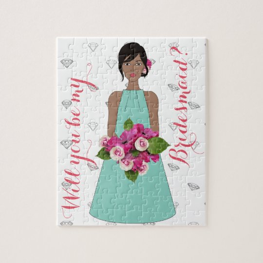 Bridesmaid Jigsaw Puzzle