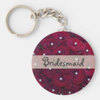 Bridesmaid keychain