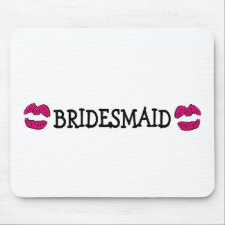 Bridesmaid Lips Mousepads