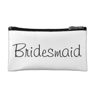 Bridesmaid Make Up Bag Cosmetic Bag