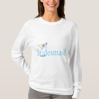 Bridesmaid (Martini Blue) T-Shirt