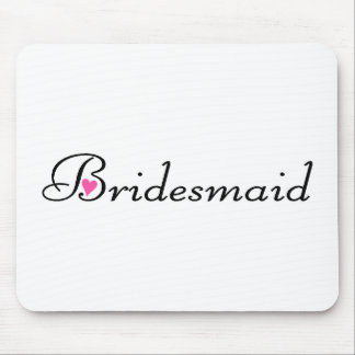 Bridesmaid Mouse Pads