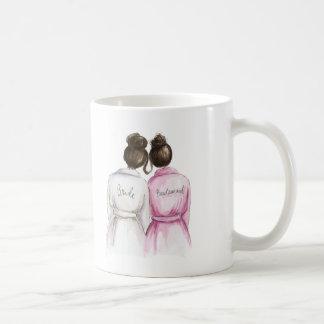 Bridesmaid Mugs from Zazzle.