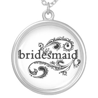 Bridesmaid Custom Jewelry