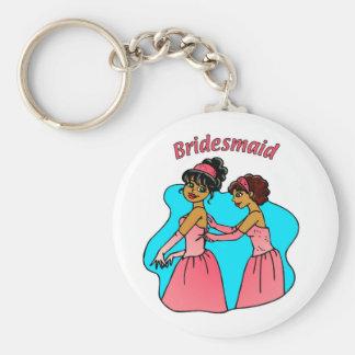 Bridesmaid (Pink) II Key Chain