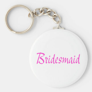 Bridesmaid Pink Keychains