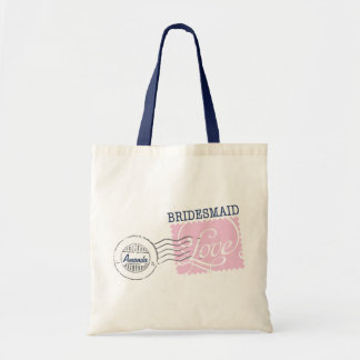 Bridesmaid Postal Service Collection Tote Budget Tote Bag