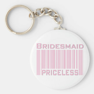 Bridesmaid Priceless Keychains
