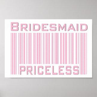Bridesmaid Priceless Print