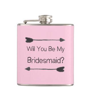 Bridesmaid Proposal Flask