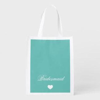 Bridesmaid Reusable Grocery Bag