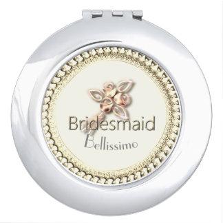 Bridesmaid_ROSE_GOLD-Monogram-Wedding-Favor Makeup Mirrors