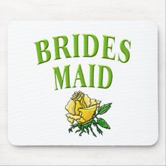 bridesmaid- rose mouse pad