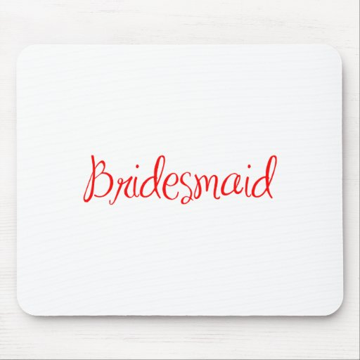 bridesmaid-sexy-red.png mouse pad