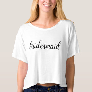 Bridesmaid Simple T-shirt