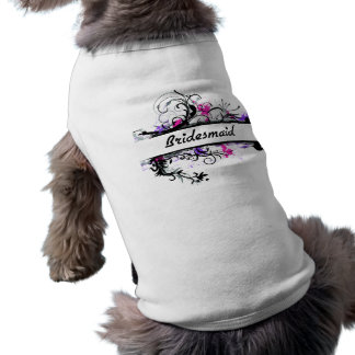 Bridesmaid Sleeveless Dog Shirt