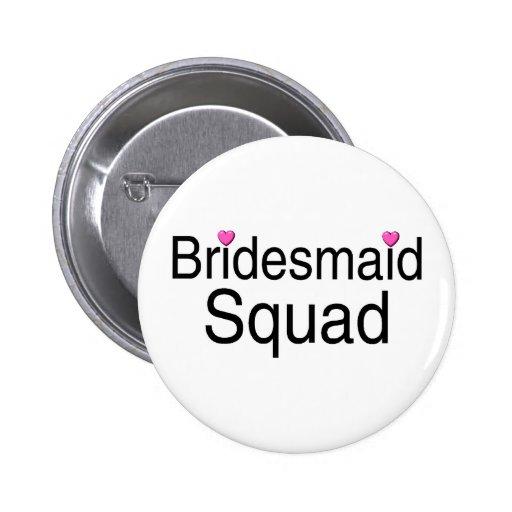 Bridesmaid Squad Pin