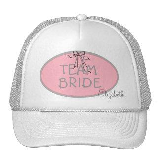 Bridesmaid-Team Bride- Personalized Cap