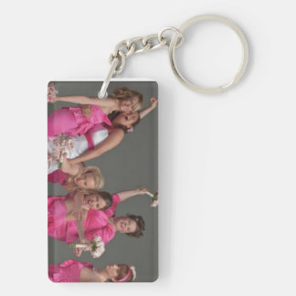Bridesmaid Thank You Keepsake Photo Keychain