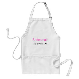 Bridesmaid (The Smart One) Standard Apron