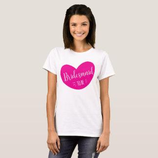 Bridesmaid To Be T-Shirt, Team Bride T-Shirt