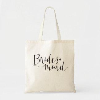Bridesmaid Tote Budget Tote Bag