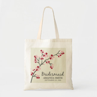 Bridesmaid Wedding Party Gift Bag (red)