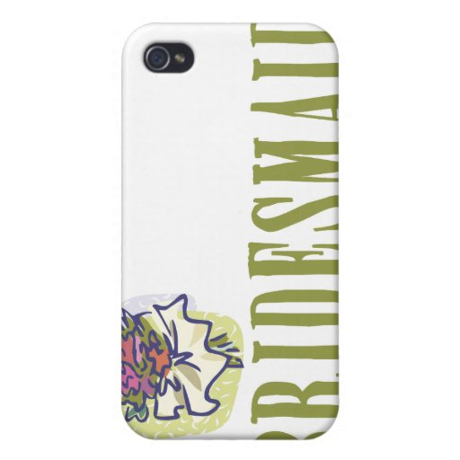 Bridesmaid Wedding party iPhone 4/4S Cover