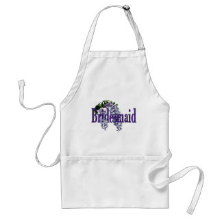 Bridesmaid/ Wisteria Wedding Standard Apron