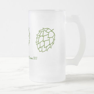 Bridesmaids and Bachelorettes need beer: Frosted Glass Beer Mug