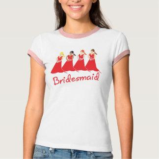 Bridesmaids Attendant Tee Shirt