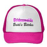 Bridesmaids Brides Bitches Hat