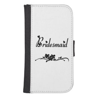 Bridesmaids Galaxy S4 Wallet Case