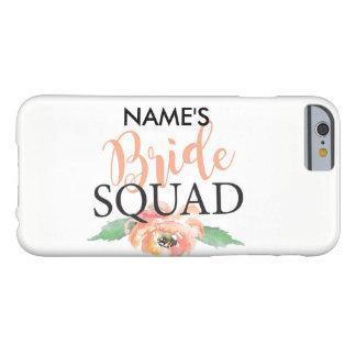 Bridesmaids iPhone Case Coral Wedding Bride Squad