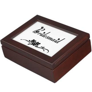 Bridesmaids Memory Boxes