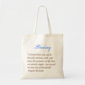 Bridesmaids tote - Quote 1 Canvas Bags