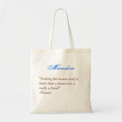 Bridesmaids tote- Quote 2 Tote Bags