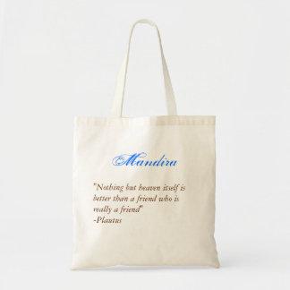Bridesmaids tote- Quote 2 Budget Tote Bag
