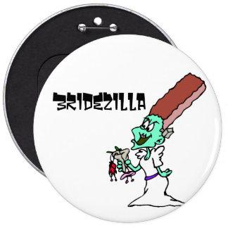 Bridezilla 6 Cm Round Badge