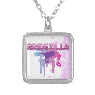 bridezilla bachelorette wedding bridal shower pendants