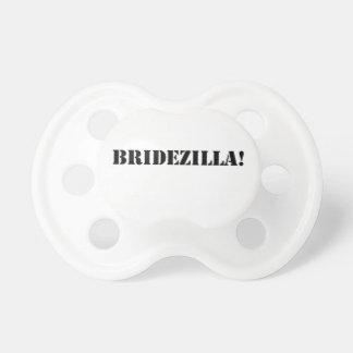 Bridezilla black baby pacifier