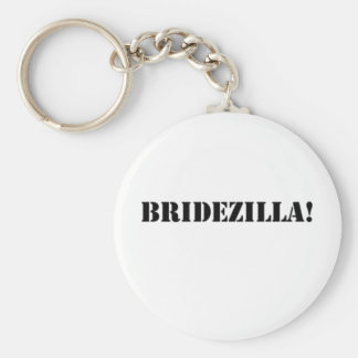Bridezilla black key chains