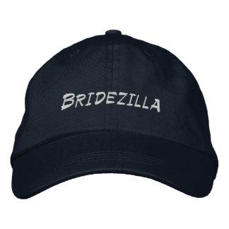 Bridezilla Bride to Be Personalized Adjustable Hat Baseball Cap