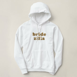 Bridezilla | Fun Tigerprint Hooded Sweatshirt