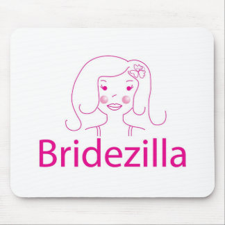bridezilla mouse pad